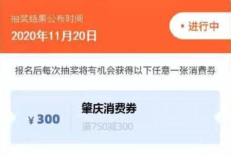 肇庆市1亿消费券怎么领取