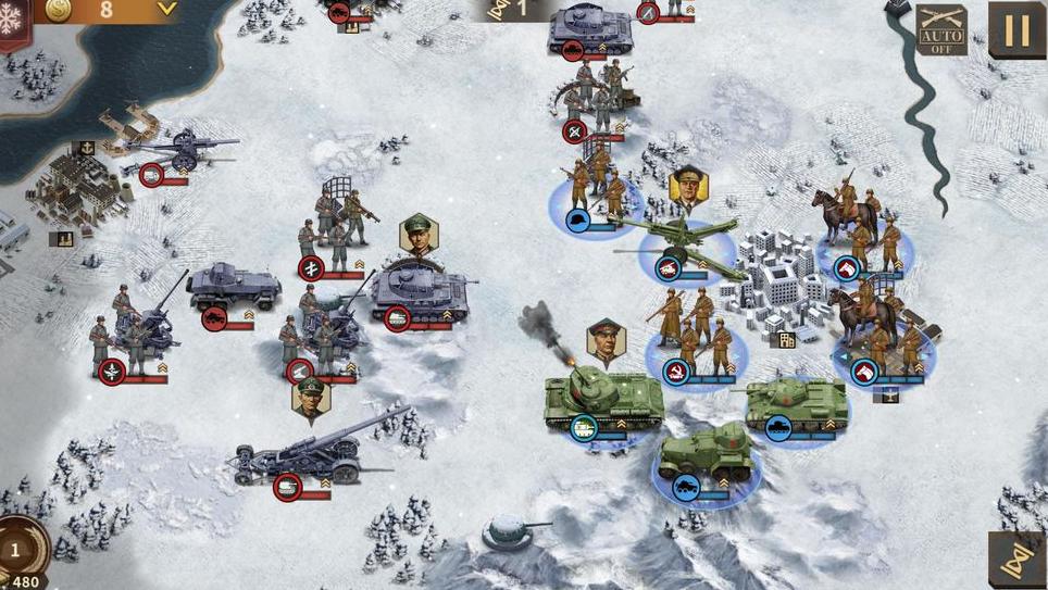 钢铁命令:将军的荣耀3手游公测版v1.0.0