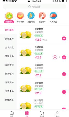乡村果蔬appv1.0