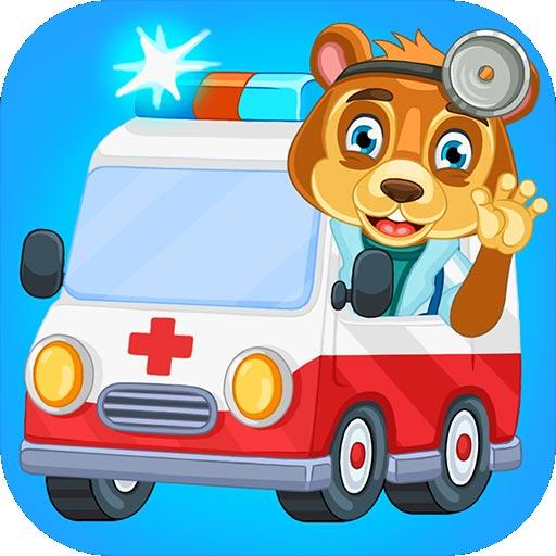 小小救护车驾驶游戏