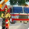 3D消防员支援游戏