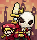 骷髅骑士像素RPG冒险